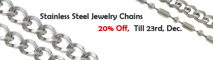 stainless steel chains for jewelry making