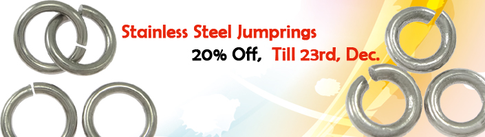 stainless steel jump rings promotions